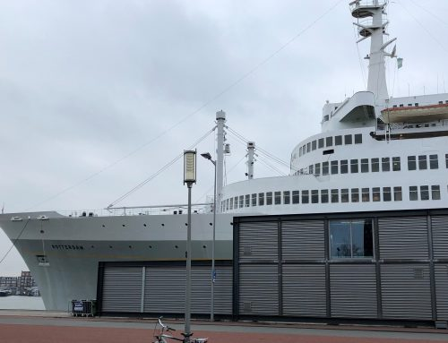 APEX on board of the SS Rotterdam