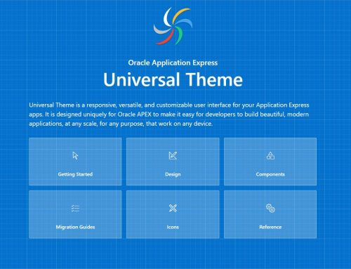 Mobile Interfaces using Universal Theme